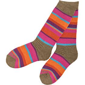 Isbjörn Snowfox Ski Socks Kids Coral